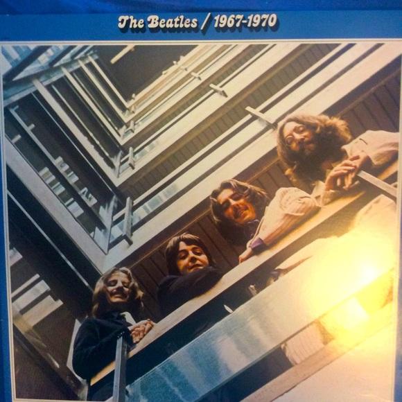 Vinyl The Beatles 1967–1970 exc cond 2 record set